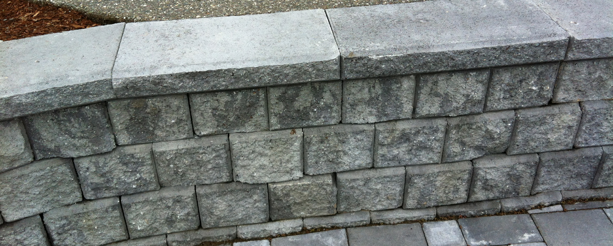 Concrete Brick Retaining Wall