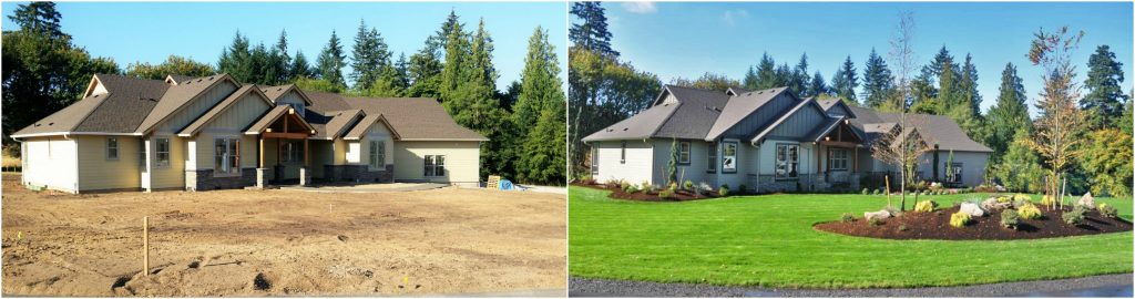 Before and After: 2016 Parade of Homes landscape frontierlandscaping.com Vancouver WA : landscape-inside-house - designwebi.com